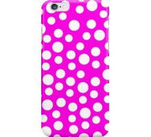 Polka dots Pink Iphone and Ipod Cases  iPhone Case/Skin
