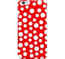 Polka dots Red Iphone and Ipod Cases  iPhone Case/Skin