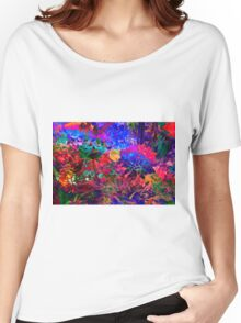 FLORAL DREAM of SUMMER Women's Relaxed Fit T-Shirt