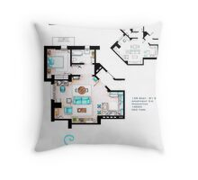 Seinfeld Apartment Throw Pillow