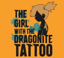 The Girl with the Dragonite Tattoo by setomage