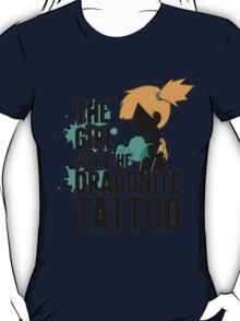 The Girl with the Dragonite Tattoo T-Shirt