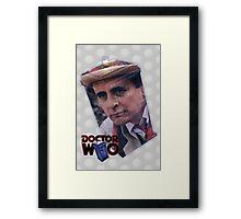 Sylvester McCoy Poster Framed Print