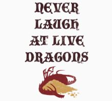 Never Laugh At Live Dragons by Look Human