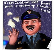 Dennis Frantz at Christmas Poster