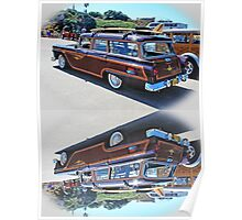 Classic Woody Panel  Rex Gray  Woody Series  http://www.flickr.com/photos/rexgray/ Poster