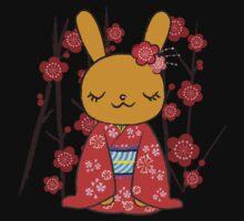 Kimono Bunny! Usahime the Rabbit Baby Tee