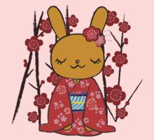 Kimono Bunny! Usahime the Rabbit One Piece - Long Sleeve