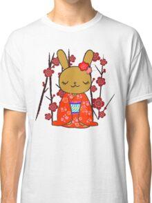 Kimono Bunny! Usahime the Rabbit Classic T-Shirt