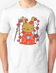 Kimono Bunny! Usahime the Rabbit Unisex T-Shirt