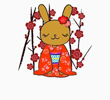 Kimono Bunny! Usahime the Rabbit Womens Fitted T-Shirt