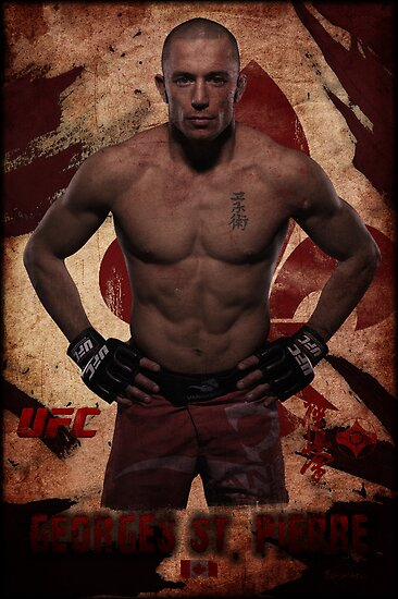 Georges St-Pierre by remycote