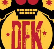 DEK Poker Chips Sticker