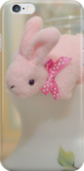 Bunny Collection #11 - bunny about to jump by Cyndiee Ejanda