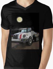 2008 Terex TA27 Articulated Dump Truck Mens V-Neck T-Shirt