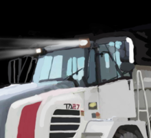 2008 Terex TA27 Articulated Dump Truck Sticker