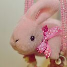 Bunny Collection #4 - a bunny and a necklace by Cyndiee Ejanda