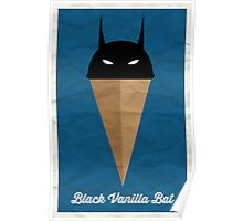 Black Vanilla Bat Poster