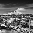 Volcano Etna seen from Catania - Sicily by Mirko Chessari