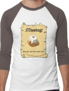 Where is my sweet roll? Men's Baseball ¾ T-Shirt