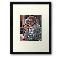 Here's to Feeling Good All the Time Framed Print