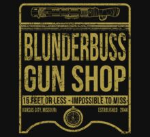 Blunderbuss Gun Shop by moysche