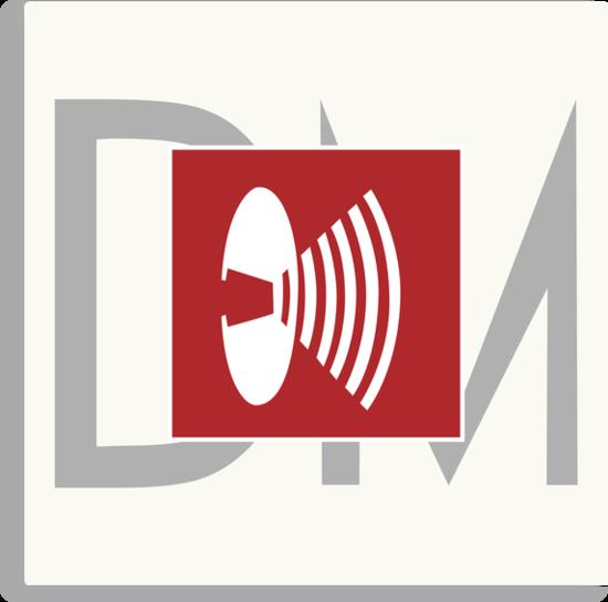 Depeche Mode - Music For The Masses Logo by Luc Lambert