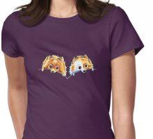 Nice Pom Poms {dark} Womens Fitted T-Shirt