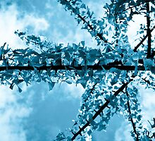 Blue Weather - Ginkgo Biloba by ThomsonStudios