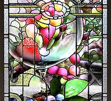 Stained Glass Template: Summer Wine by ecannon11