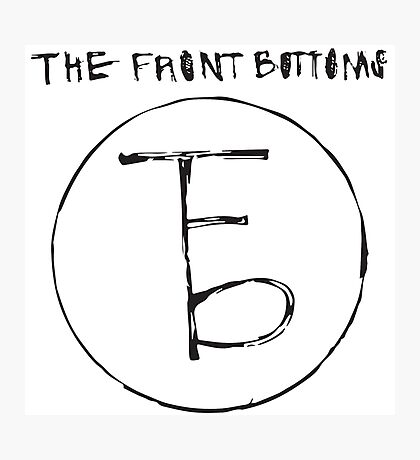 The Front Bottoms - Logo & Name Photographic Print