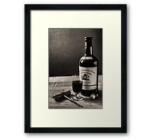 A Bottle of Port Framed Print