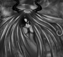 Dark Horned God by harmaa
