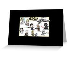 Cute Star Wars Characters! Greeting Card