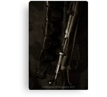 This is my Rifle, there are many like it.... Canvas Print