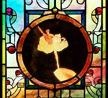 Stained Glass Template: Fingertip Ballerina by ecannon11