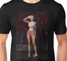 Anime Girl - Stars and Stripes T-Shirt