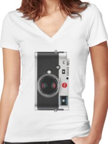 Leica M (Typ 240) - Vertical Women's Fitted V-Neck T-Shirt