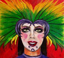 Mardi Gras masker #3 by tsita13