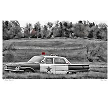 Classic Cruiser Photographic Print