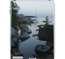 Sailboat at dusk iPad Case/Skin