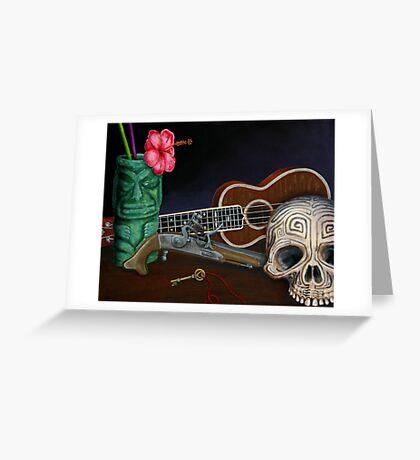 Fishtail Greeting Card