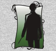 A Slytherin Silhouette by LeeAnn Ellison