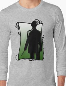A Slytherin Silhouette Long Sleeve T-Shirt