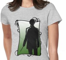 A Slytherin Silhouette Womens Fitted T-Shirt
