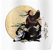 Tai chi chuan and yin yang Poster