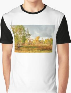 Birch on the edge of the forest Graphic T-Shirt