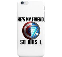 Civil War Quote 2 iPhone Case/Skin