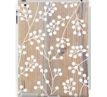 Wooden engraved pattern iPad Case/Skin