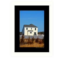 Gated Community House - Calverton, New York  Art Print